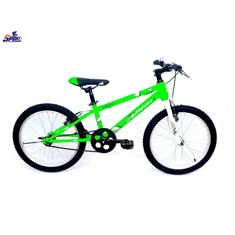 Vélo VTC tomecat 20 vert